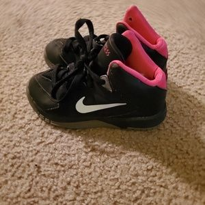 Nike little girl tennis shoes.
